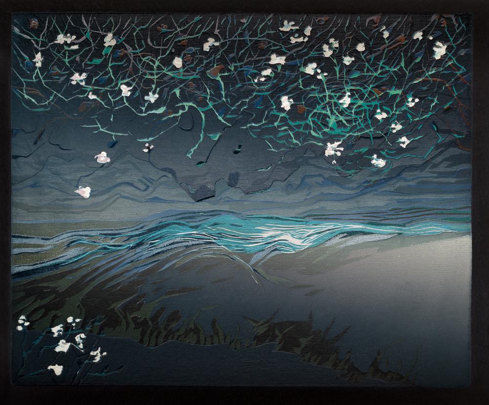 Bloemen, 2016, 26 x 31. cm