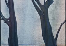 door-de-bomen